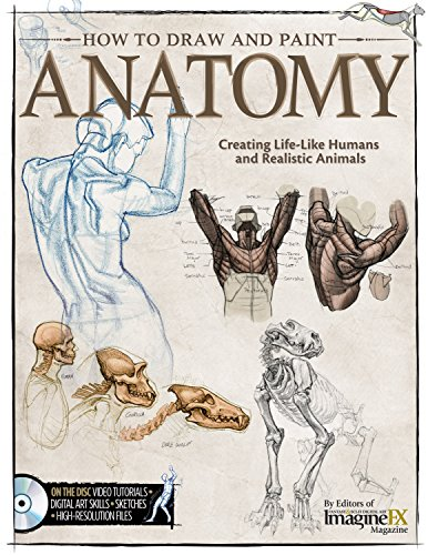 How to Draw and Paint Anatomy by The Editors of Imaginefx Magazine, ISBN: 9781565237162
