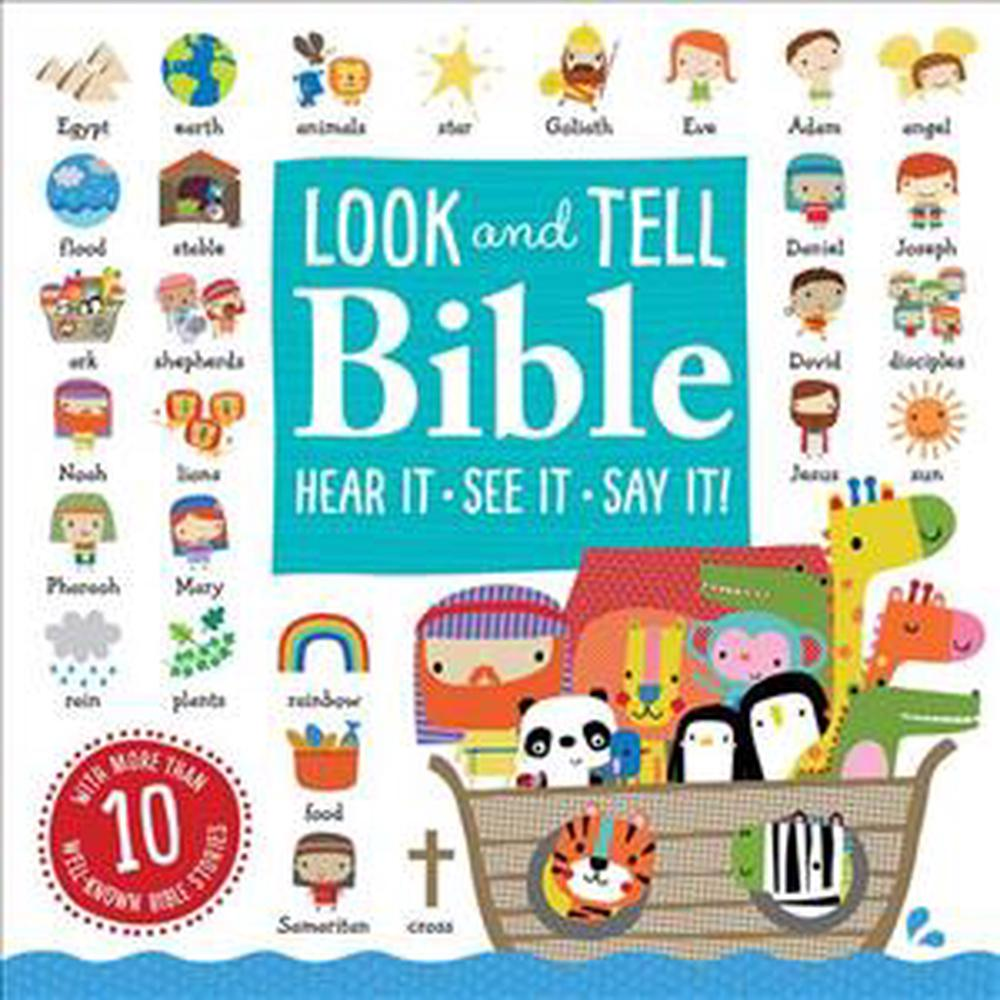 Look and Tell Bible by Thomas Nelson, ISBN: 9781785981524