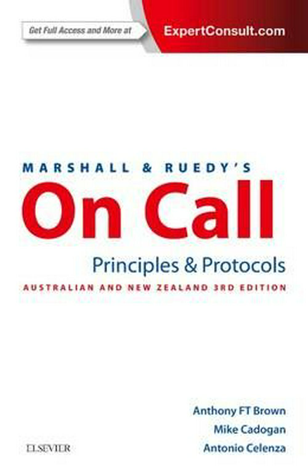 Marshall & Ruedy's On Call3rd Edition by BROWN,CADOGAN,CELENZA, ISBN: 9780729542623