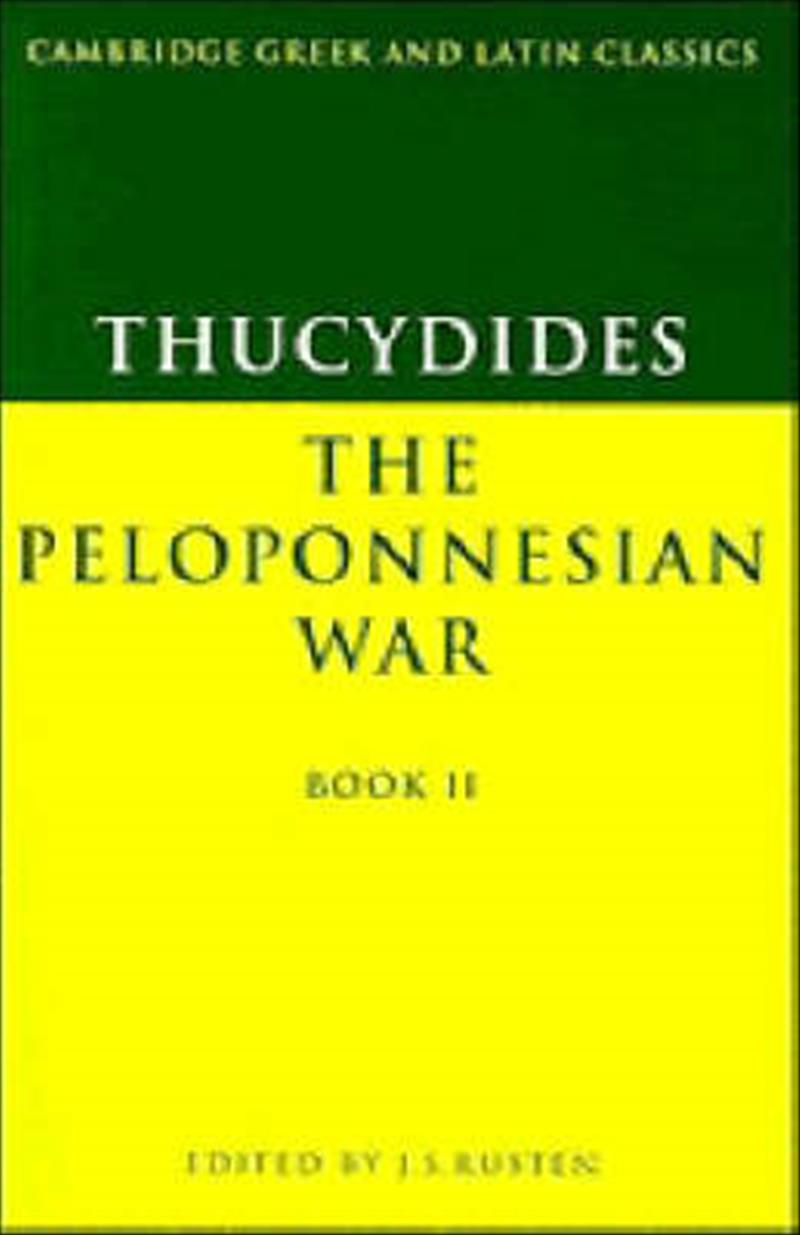 Thucydides: The Peloponnesian War Book II: Bk.2