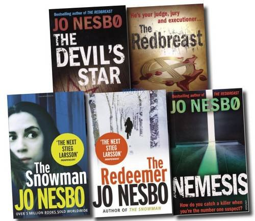 Jo Nesbo Collection: Redbreast, Nemesis, Devil's Star, Snowman & Redemeer