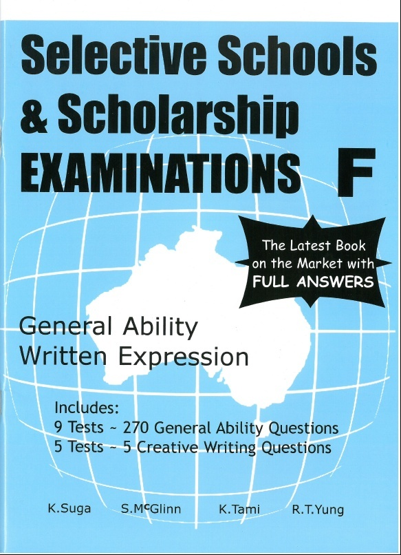 Selective Schools and Scholarship Examinations F