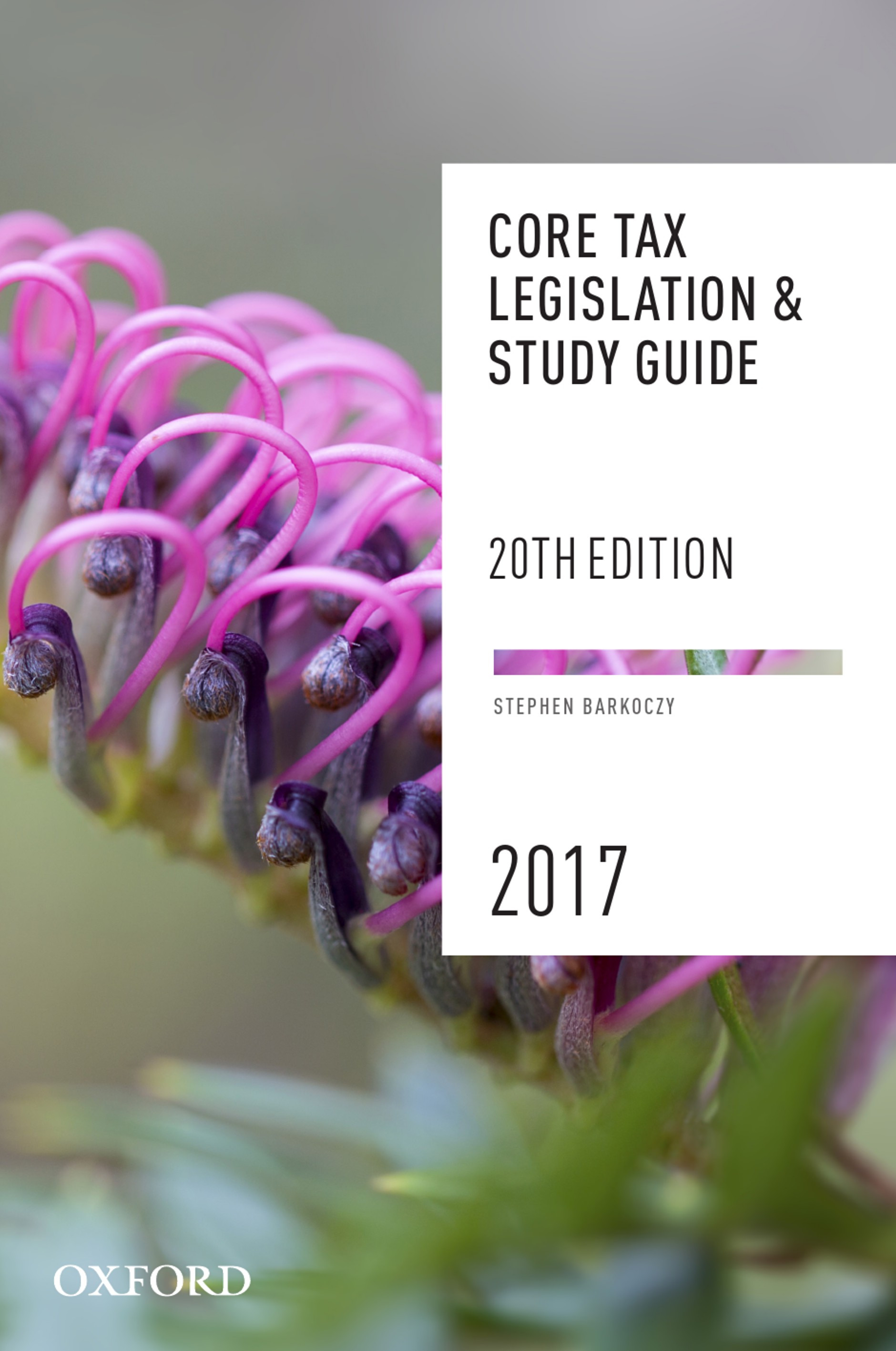 Core Tax Legislation and Study Guide