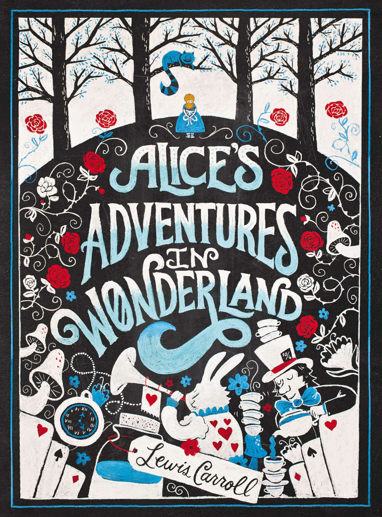 Alice's Adventures in Wonderland: Puffin Chalk Series by Lewis Carroll, ISBN: 9780147510983