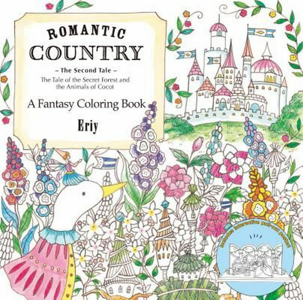 Romantic Country The Second Tale A Fantasy Coloring Book By Eriy ISBN