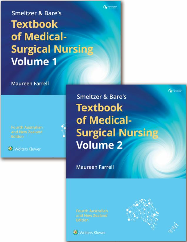 ANZ Package of Smelzer & Bare's Textbook of Medical-Surgical Nursing Print Book with PrepU 12 months Access