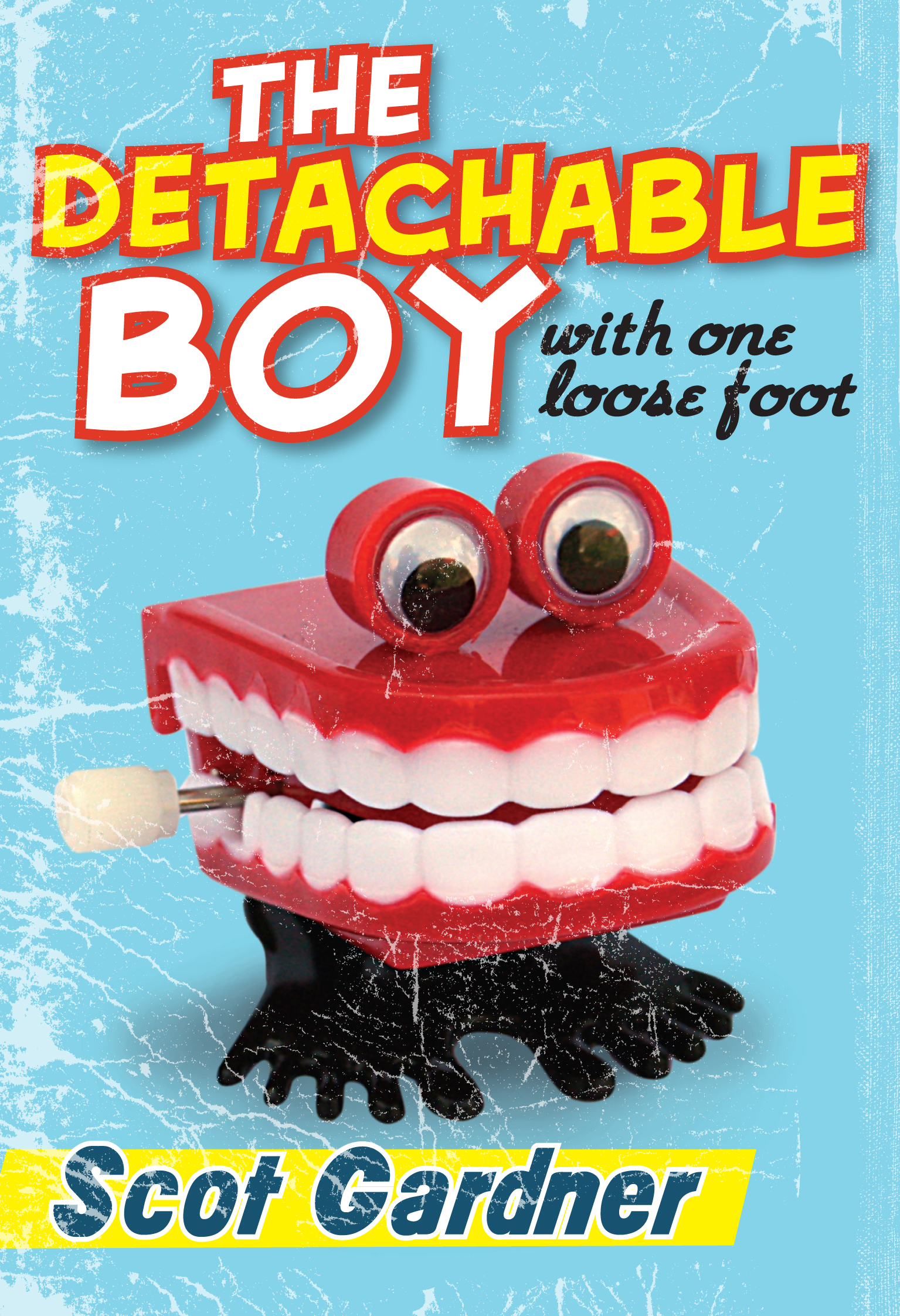 Cover Art for The Detachable Boy, ISBN: 9781741753455