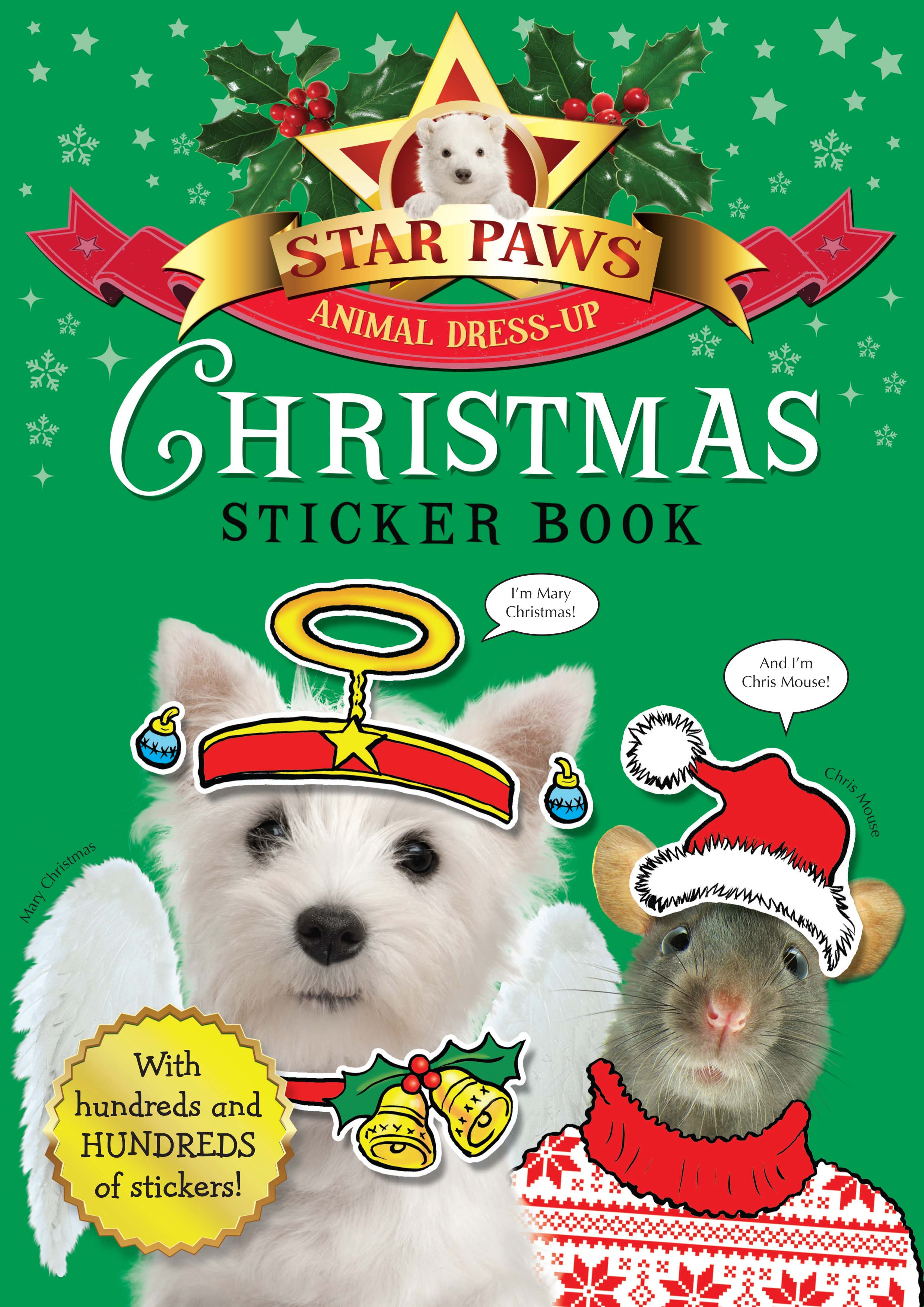 Christmas Sticker Book: Star Paws by MacMillan Children's Books, ISBN: 9781447236917