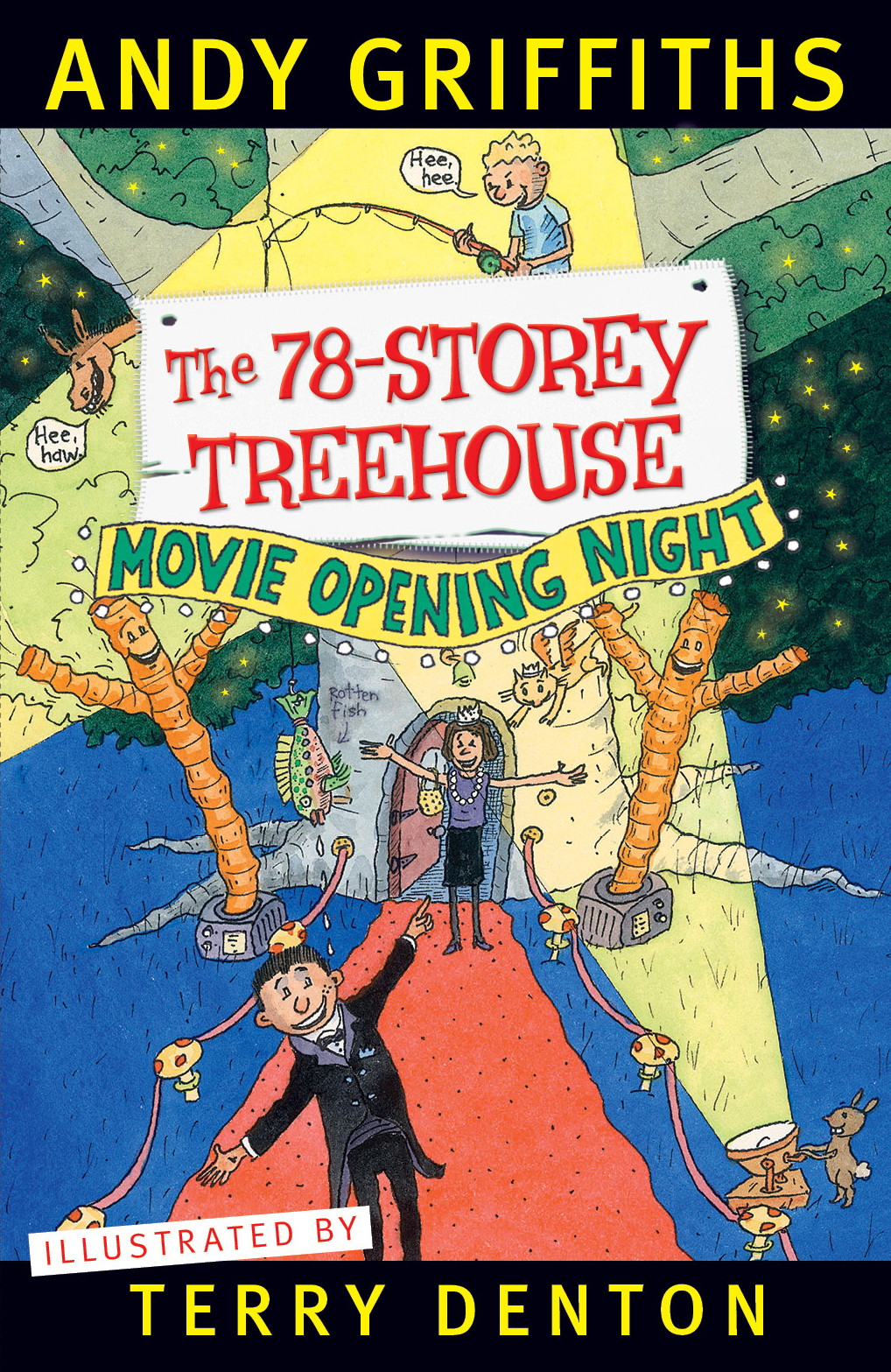 The 78-Storey Treehouse by Andy Griffiths, Terry Denton, ISBN: 9781743535004
