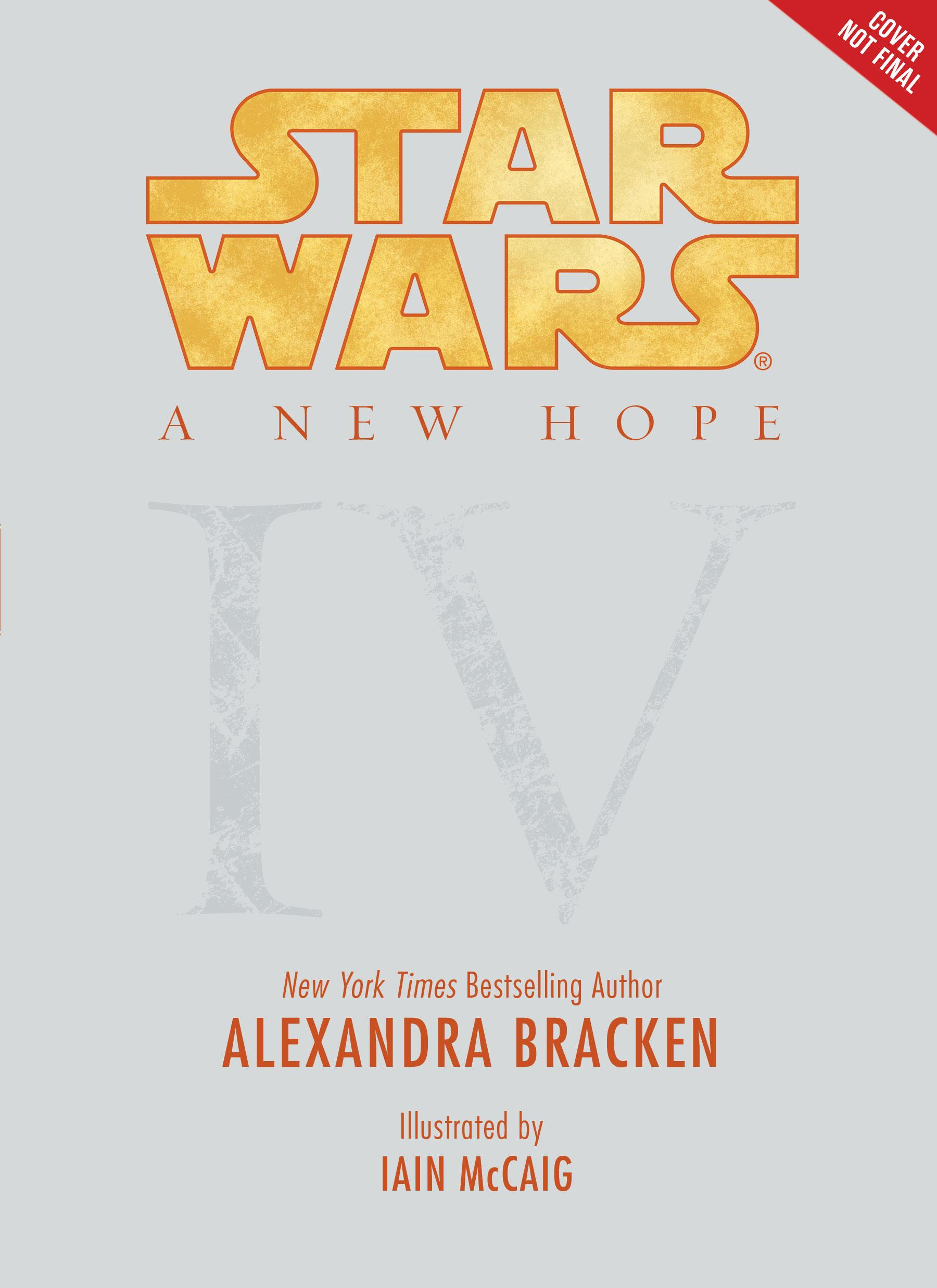 A New Hope: Being the Story of Luke Skywalker, Darth Vader, and the Rise of the Rebellion (Star Wars, Episode IV) by R. J. Palacio, ISBN: 9781484709122