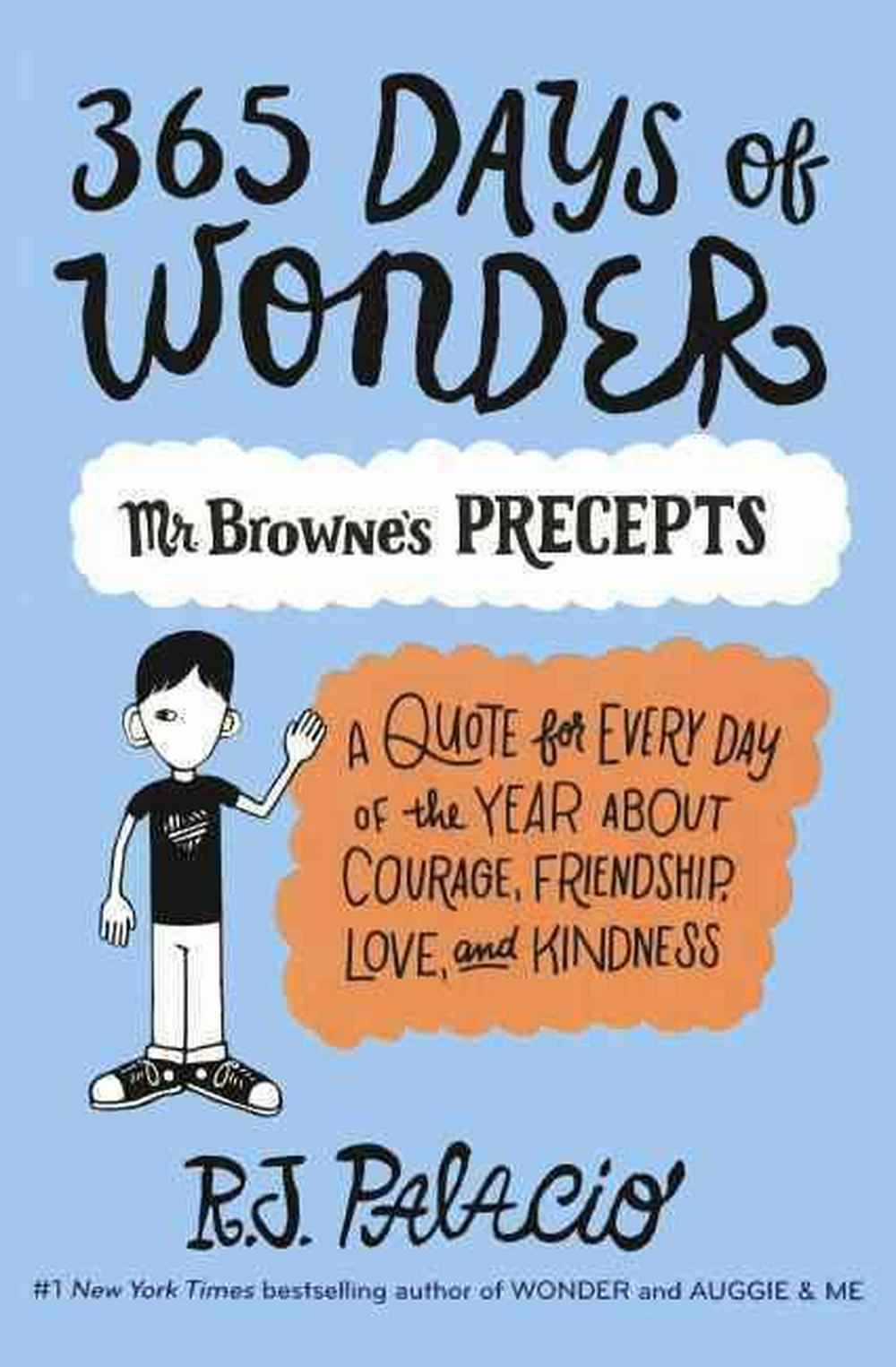 365 Days of WonderMr. Browne's Book of Precepts