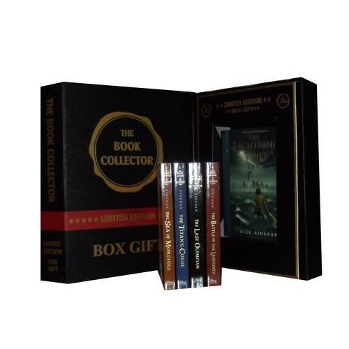 Percy Jackson Collection: Lightning Thief, the Sea of Monsters, the Titan's Curse, the Battle of the Labyrinth & the Last Olympian)(percy Jackson and the Olympians