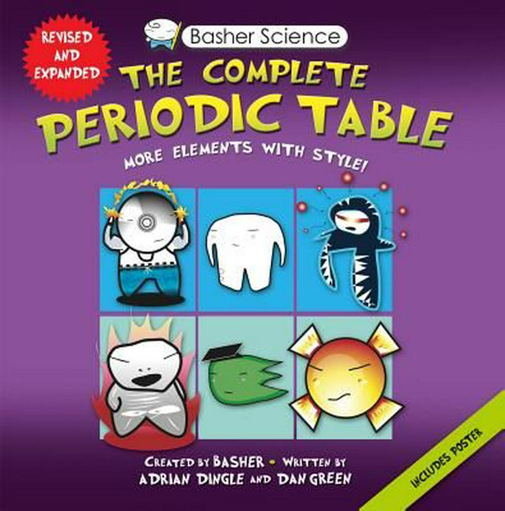 Basher Science: The Complete Periodic Table: All the Elements with Style! by Adrian Dingle, ISBN: 9780753471975