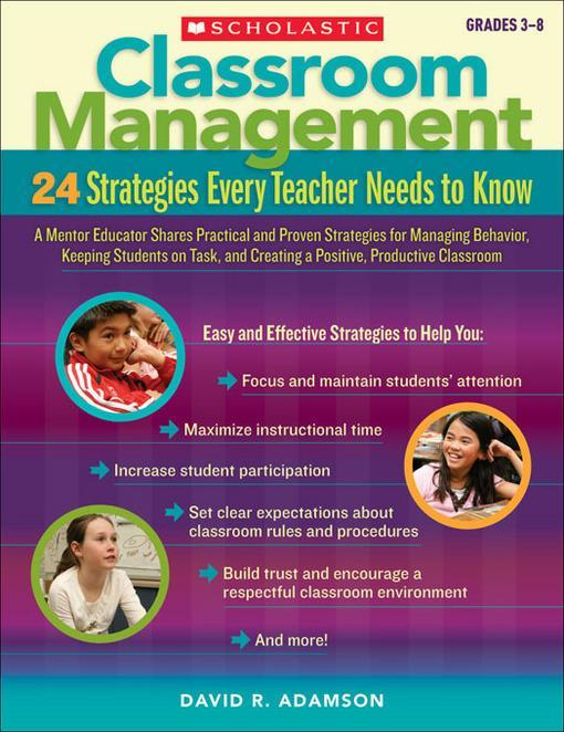 classroom management exploring 5 strategies Try these 20 classroom management strategies and techniques to enhance student learning available as a downloadable list to keep at your desk, below are 20 research-backed classroom management strategies and techniques.