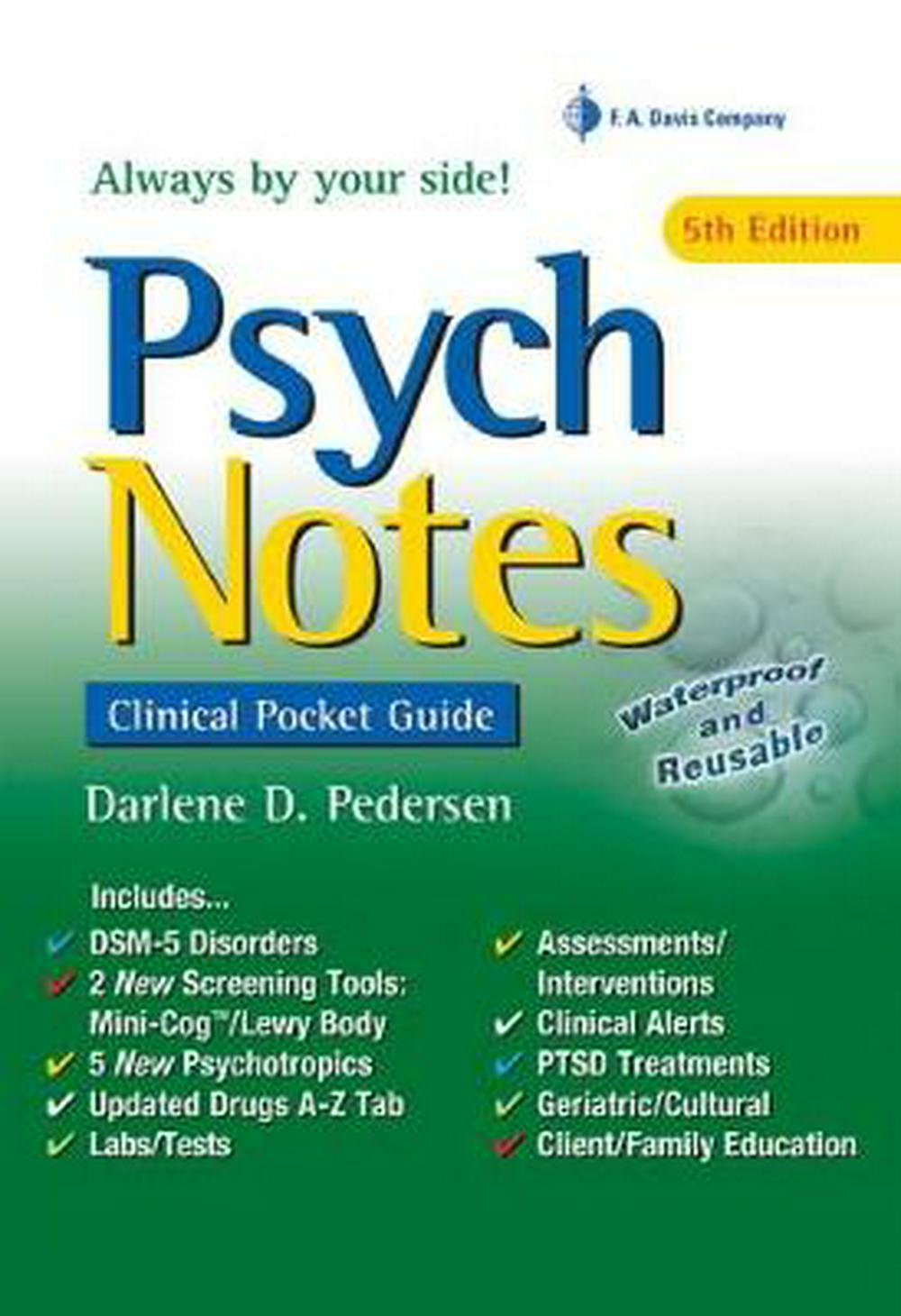Booko comparing prices for psychnotes clinical pocket guide psychnotes clinical pocket guide by darlene d pedersen msn aprn pmhcns isbn 9780803660892 fandeluxe Choice Image