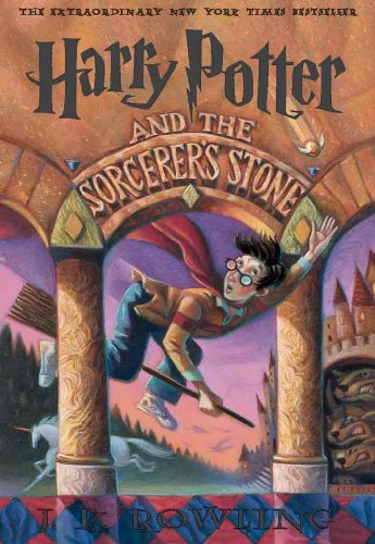 Harry Potter and the Sorcerer's Stone (Racksize Edition) by J. K. Rowling, ISBN: 9780613959926