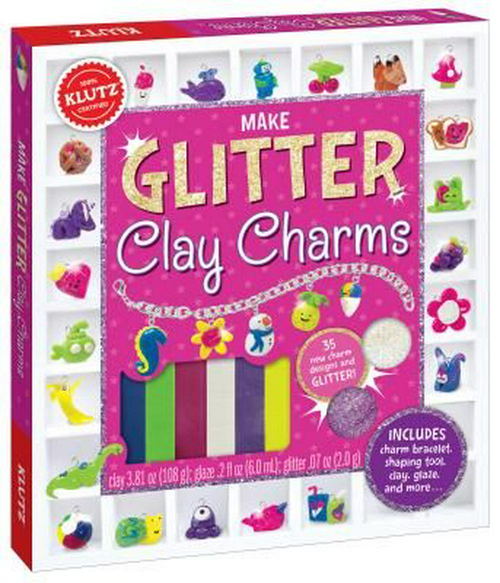 Make Glitter Clay Charms (Klutz) by Editors of Klutz, ISBN: 9780545858465