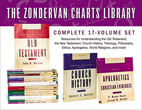 The Zondervan Charts Library: Complete 17-Volume SetResources for Understanding the Old Testament, ... by John D. Hannah,Joseph M. Holden,H. Wayne House,Craig Vincent Mitchell,Susan Lynn Peterson, ISBN: 9780310535256