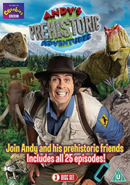 Andy's Prehistoric Adventures - The Complete Series (3 DVD Set All 25 Episodes) [DVD]