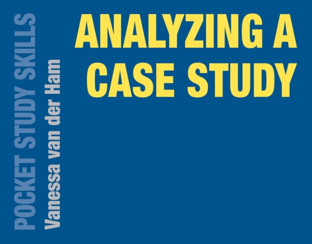 Analyzing a Case StudyPocket Study Skills