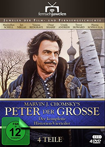 Peter the Great - 4-DVD Set [ NON-USA FORMAT, PAL, Reg.2 Import - Germany ]