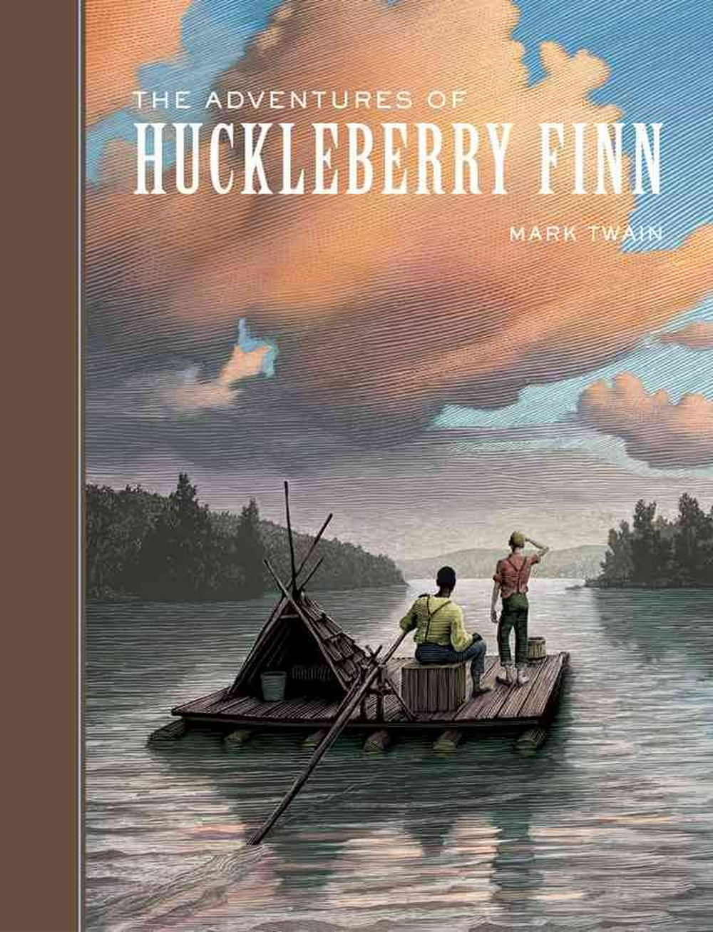 a book report on mark twains novel the adventures of huckleberry finn Research paper on twain's adventures of huckleberry finn mark twain's adventures of huckleberry finn is a novel about a young boy's coming of age in the missouri of the mid-1800's.