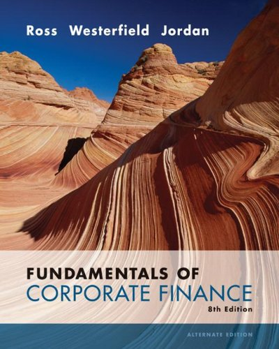 ross corporate finance 8th mini case solutions Fundamentals of corporate finance 10th edition ross, westerfield , jordan – test bank and solutions manual.
