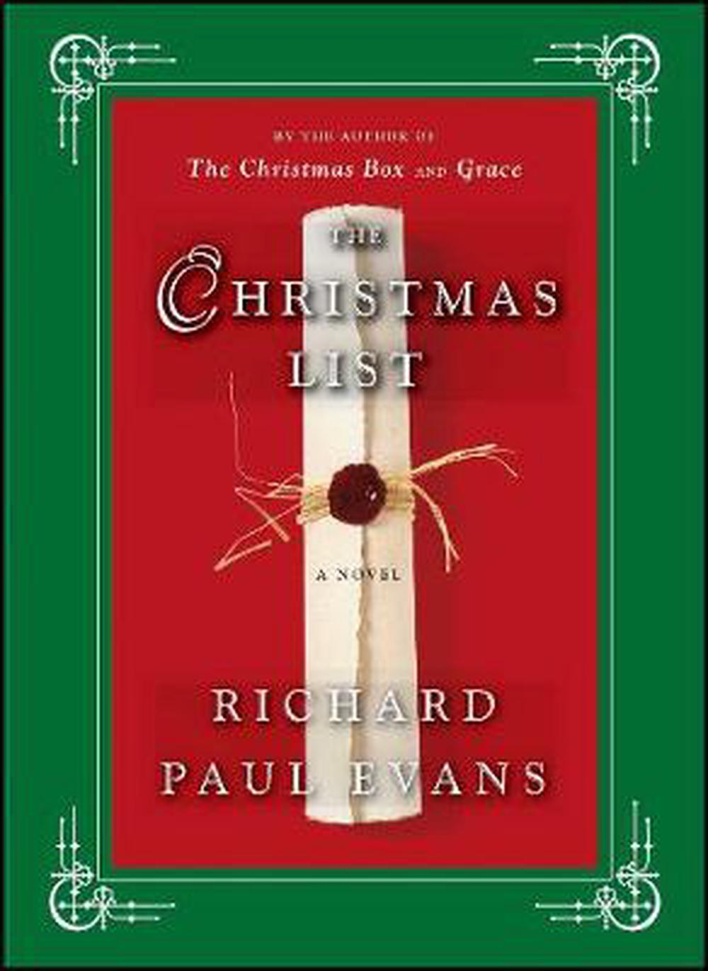 The Christmas List by Richard Paul Evans, ISBN: 9781439150009