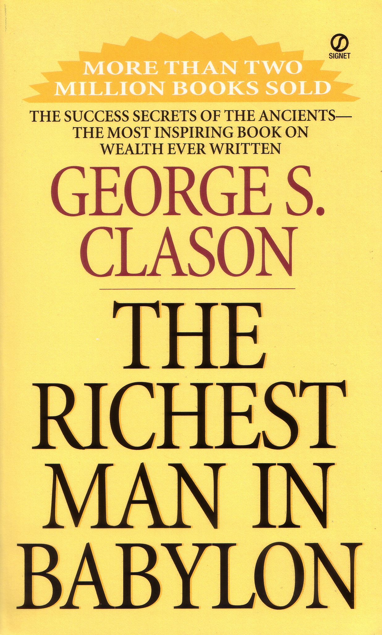 The Richest Man in Babylon by George S. Clason, ISBN: 9780451205360