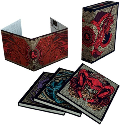 Dungeons & Dragons Core Rulebooks Gift Set Hobby Store Exclusive: Player's Handbook, Dungeon Master's Guide, Monster Manual
