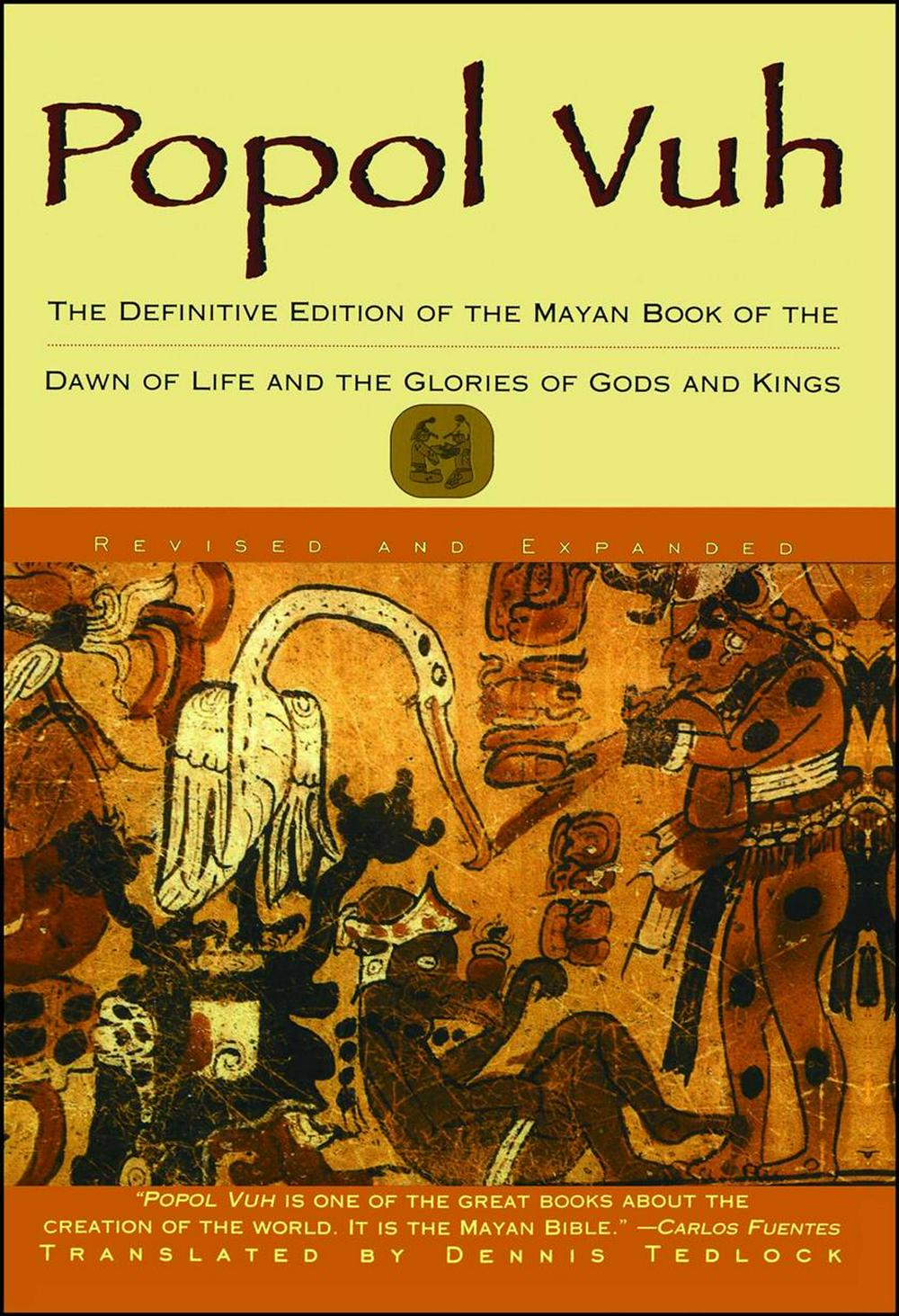 the creation in popol vuh An excerpt from popol vuh the opening of the story in which the gods create humans and they [the gods] said, speak therefore our names worship us, for we are your.