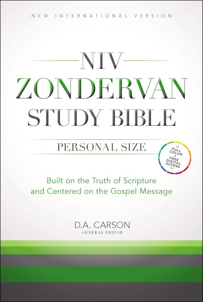 NIV Zondervan Study Bible, Personal Size: Built on the Truth of Scripture and Centered on the Gospel Message