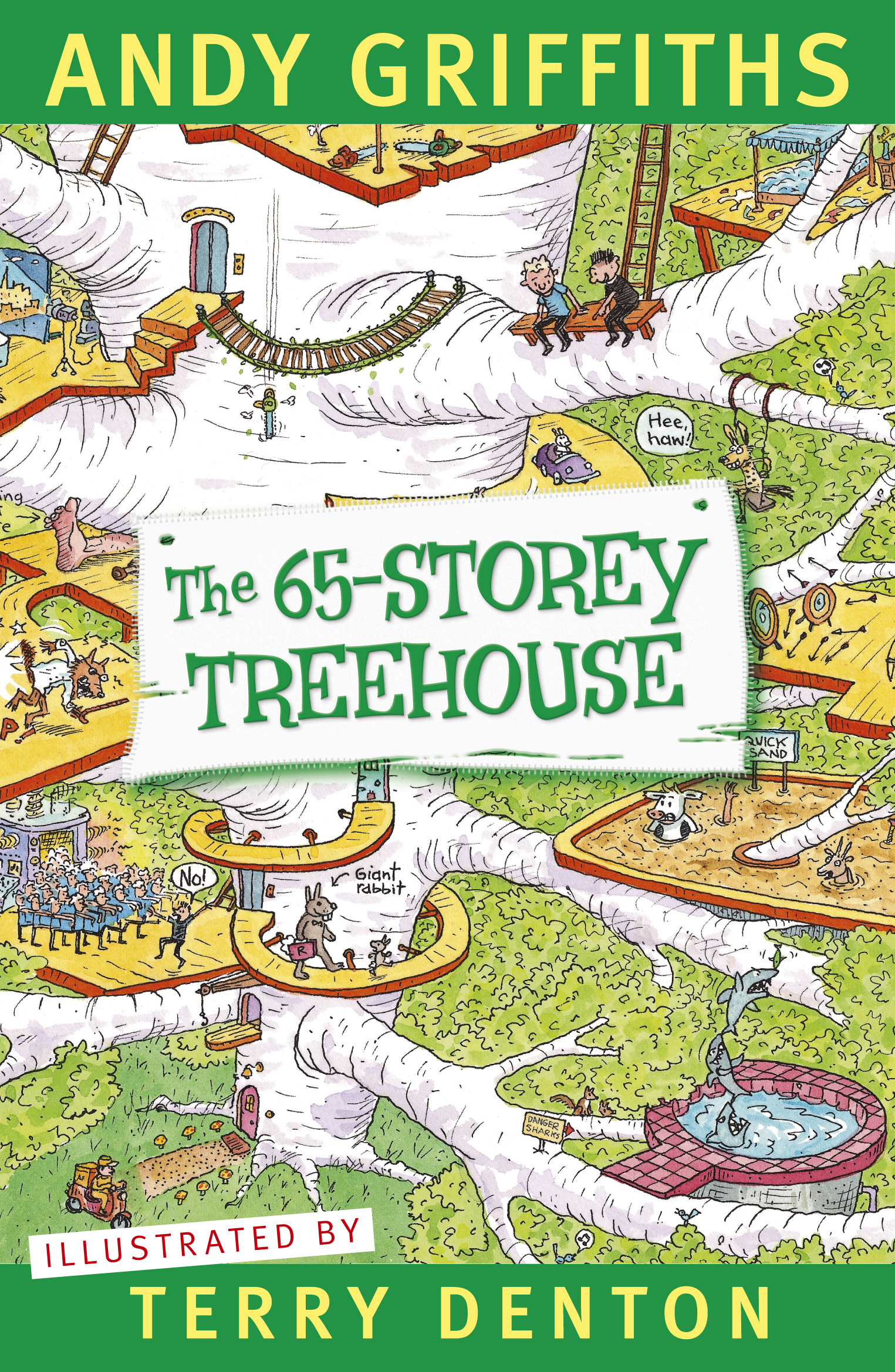 Cover Art for The 65-Storey Treehouse, ISBN: 9781743533222