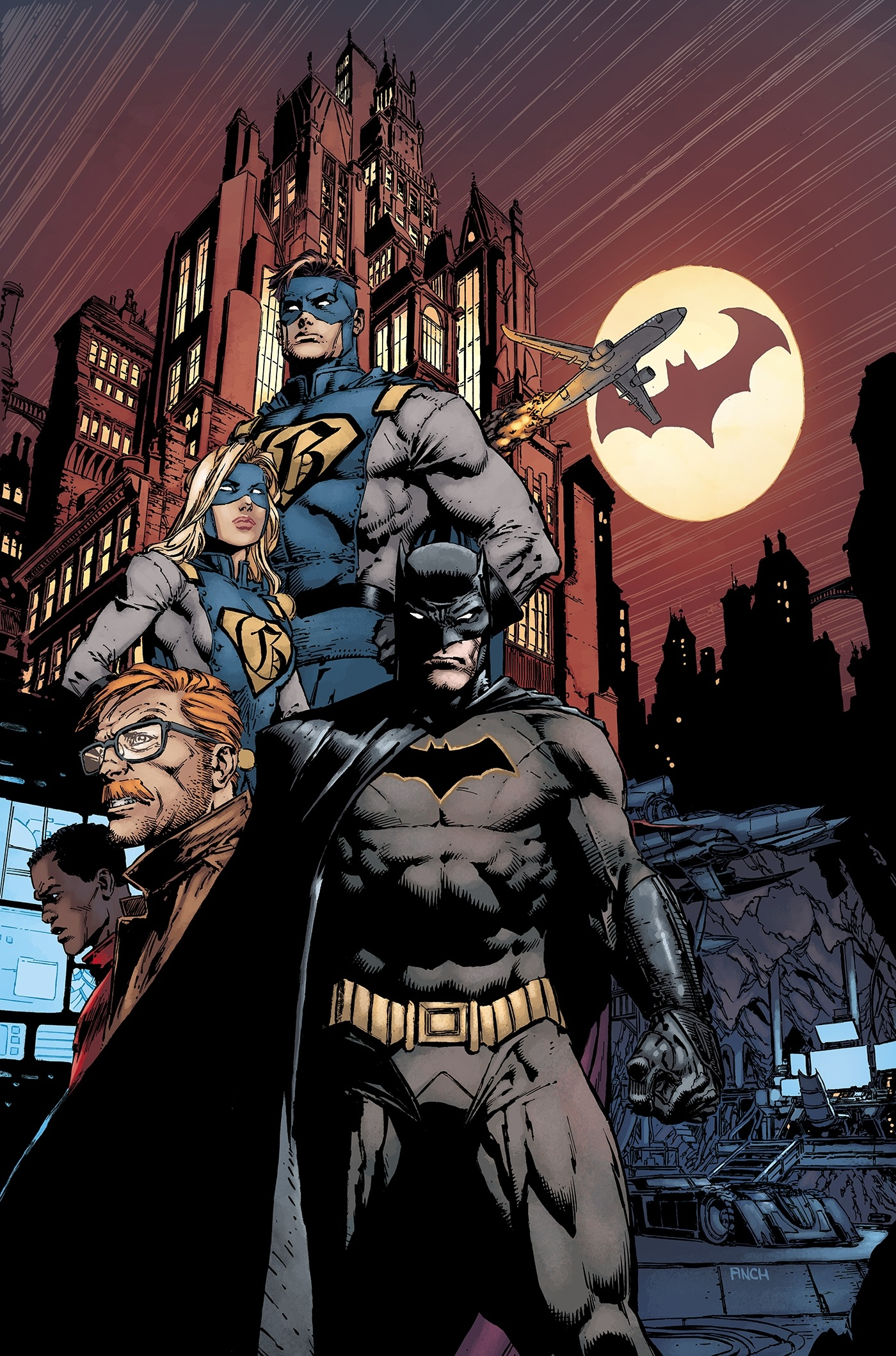 Batman 1-2: Rebirth