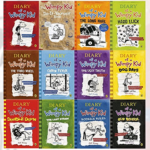 Booko comparing prices for diary of a wimpy kid collection 12 books diary of a wimpy kid collection 12 books set double down old school solutioingenieria Gallery