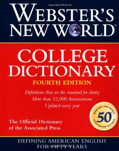 Webster's New World College Dictionary by Michael E. Agnes, ISBN: 9780028631196