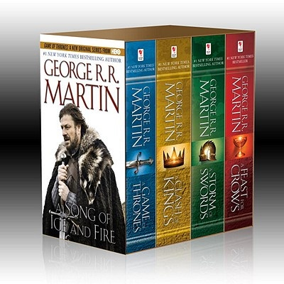 Song of Ice & Fire 4v Boxed Set