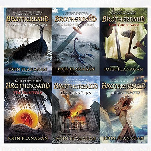 Brotherband Chronicles Collection 6 Books Set