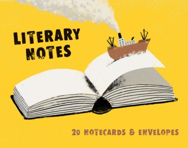Literary Notes20 Notecards & Envelopes