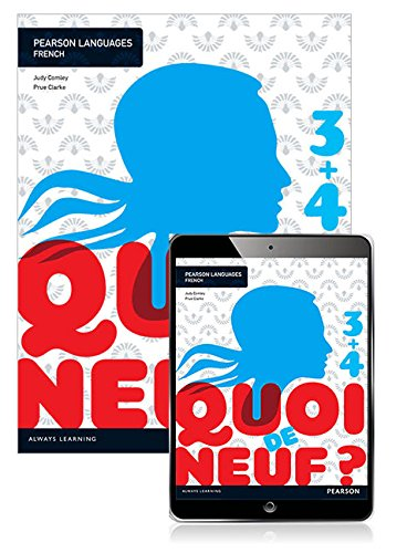 Quoi de neuf ? 3+4 Student Book with Reader+ by Judy Comley, ISBN: 9781488667909