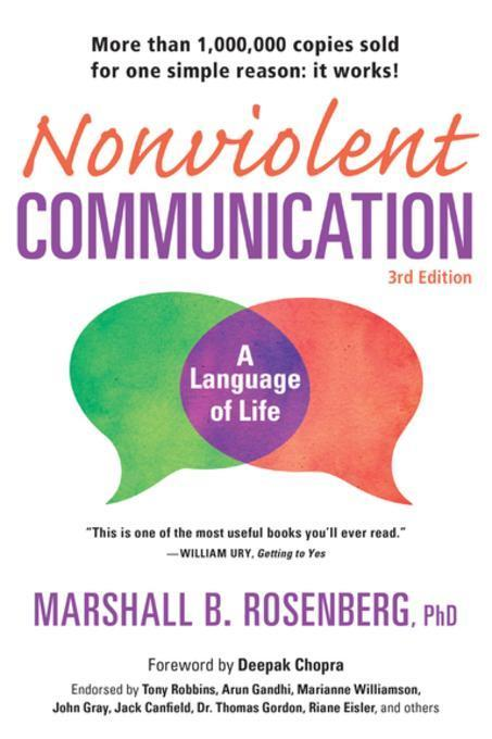 Nonviolent Communication: A Language of LifeLife-Changing Tools for Healthy Relationships by Marshall B. Rosenberg, ISBN: 9781892005519