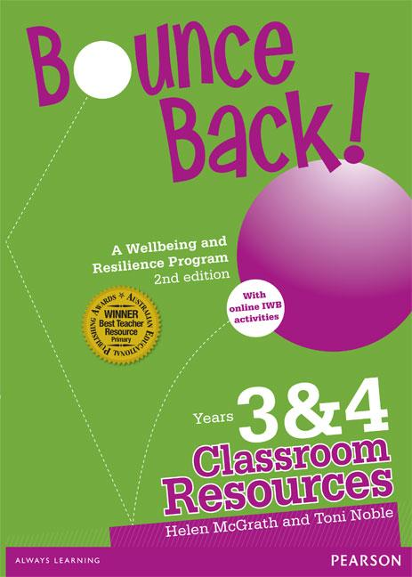 Bounce Back! Years 3 and 4 - Classroom Resources