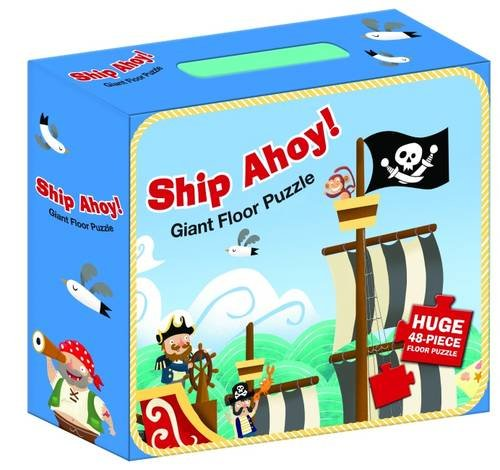 Ship Ahoy Pirates Floor Puzzle