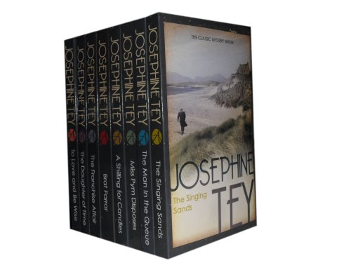 Booko Comparing Prices For Josephine Tey Collection 8 Books Set Rrp