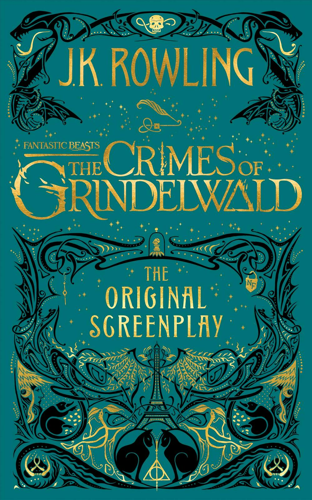 Fantastic Beasts - the Crimes of Grindelwald by J. K. Rowling, MinaLima, ISBN: 9781338263893