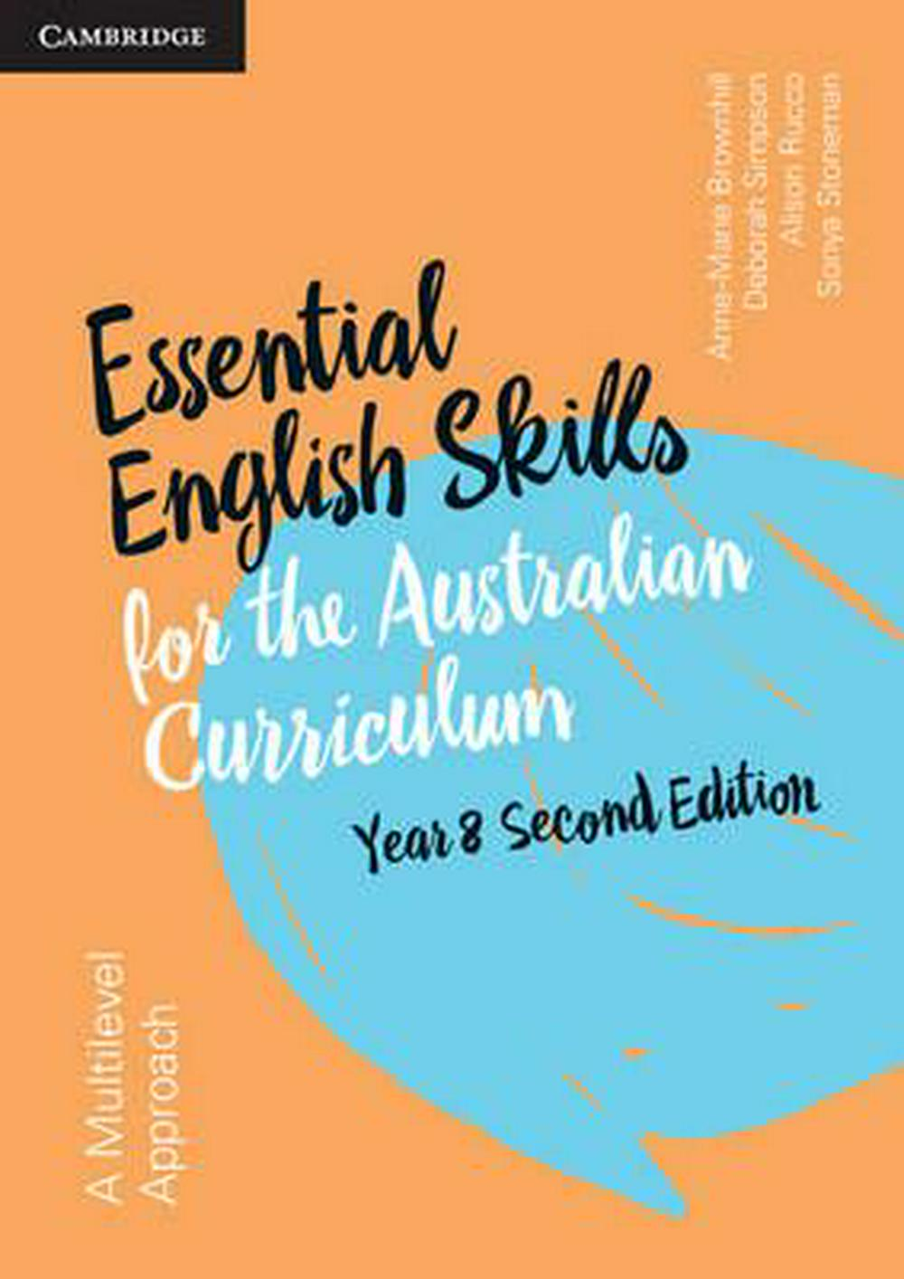 Essential English Skills for the Australian Curriculum Year 8 2nd Edition: A multi-level approach