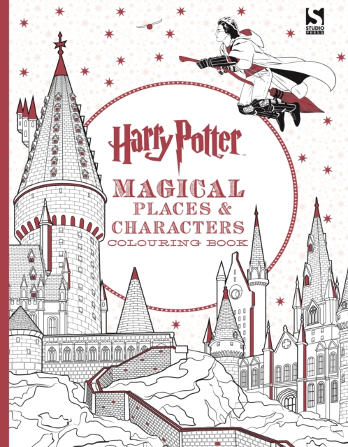 Harry Potter Magical Places and Characters Colouring BookHarry Potter