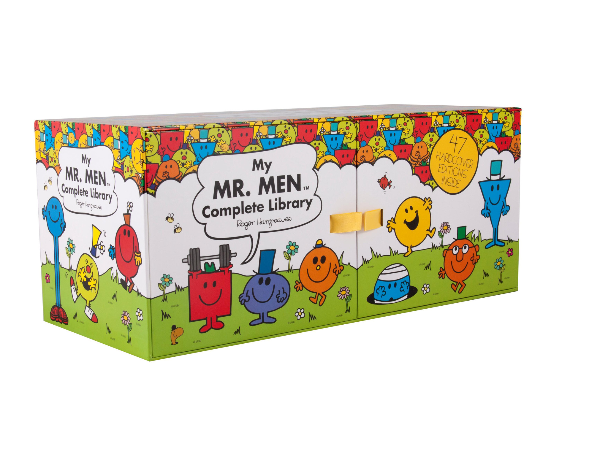 Complete Mr Men Collection47 hardcover book boxed set