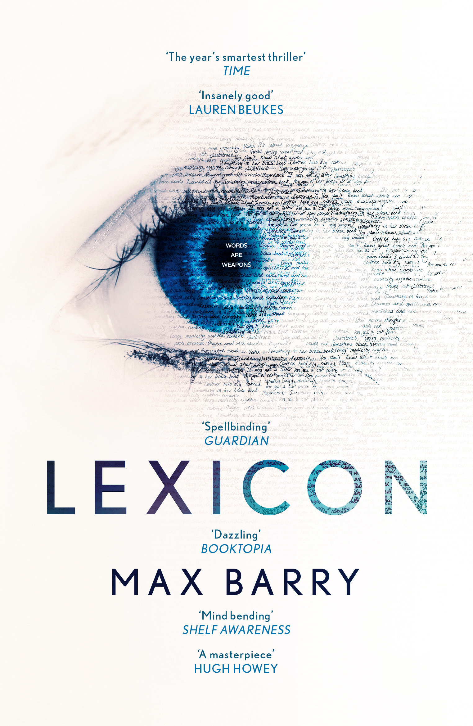 Lexicon by Max Barry, ISBN: 9781444764680
