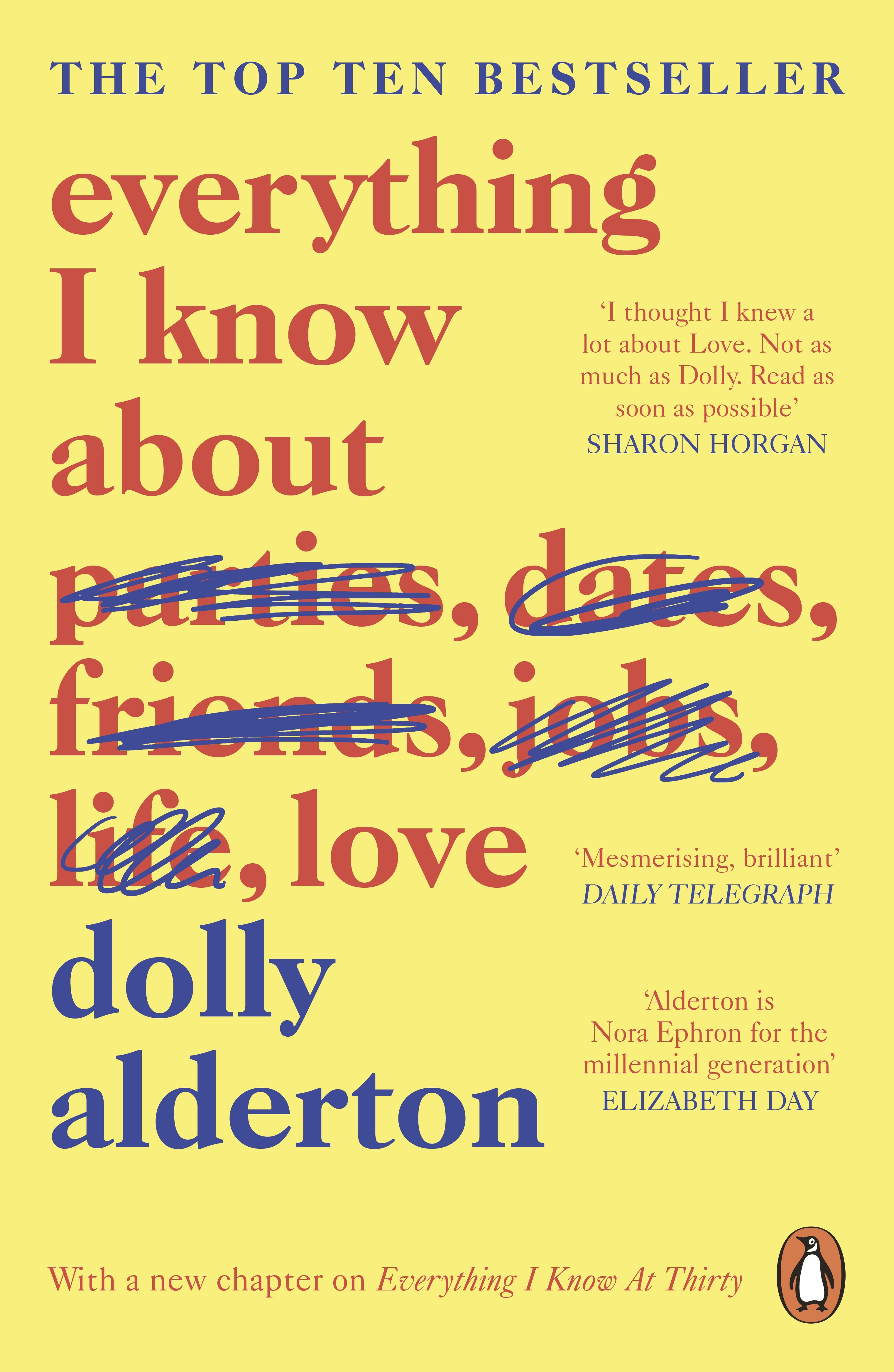 Everything I Know About Love by Dolly Alderton, ISBN: 9780241982105